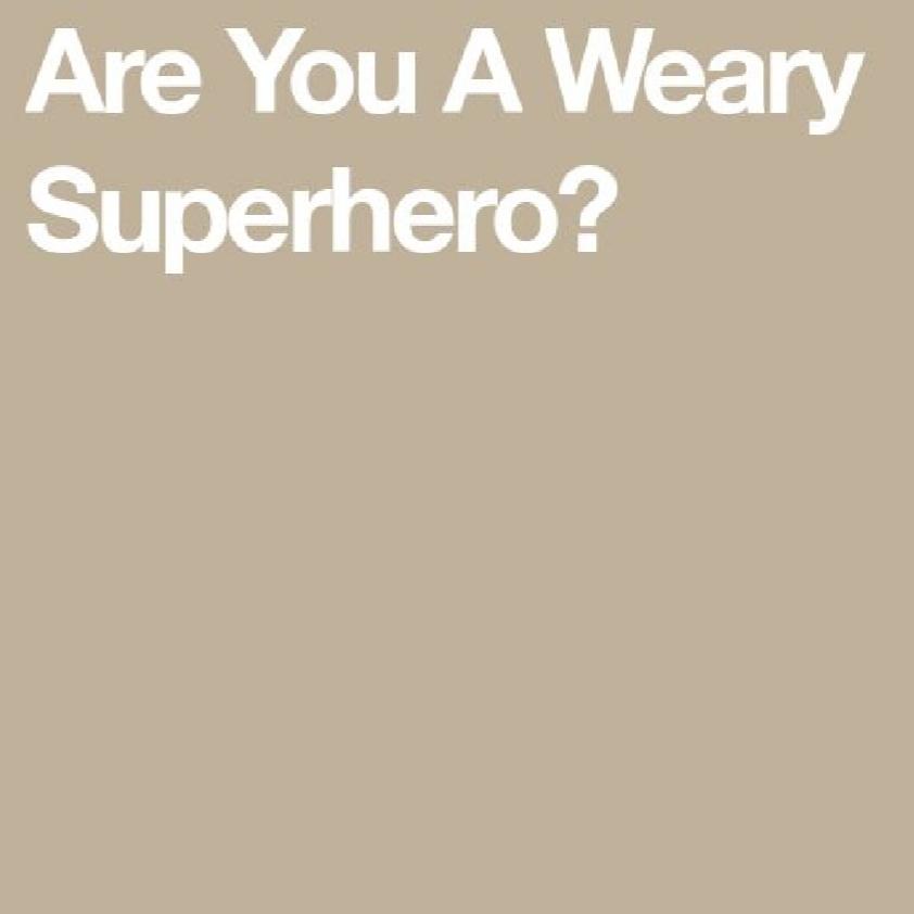 Weary Superhero