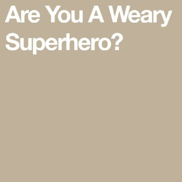 Weary Superhero